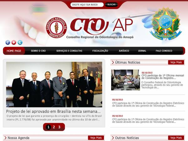 Conselho regional de odontologia do Amapá, supervisão profissional