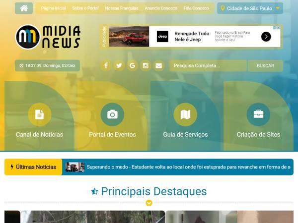 Site de notícias do Grupo Mídia Digital, o público sempre bem informado