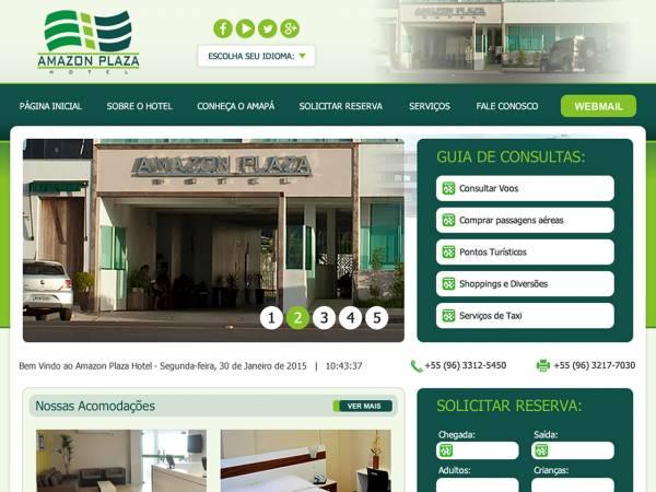Hotel nova referência de hospedagem em Macapá na orla beira rio